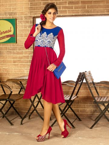 https://static6.cilory.com/106792-thickbox_default/cafe-series-red-blue-georgette-kurti.jpg