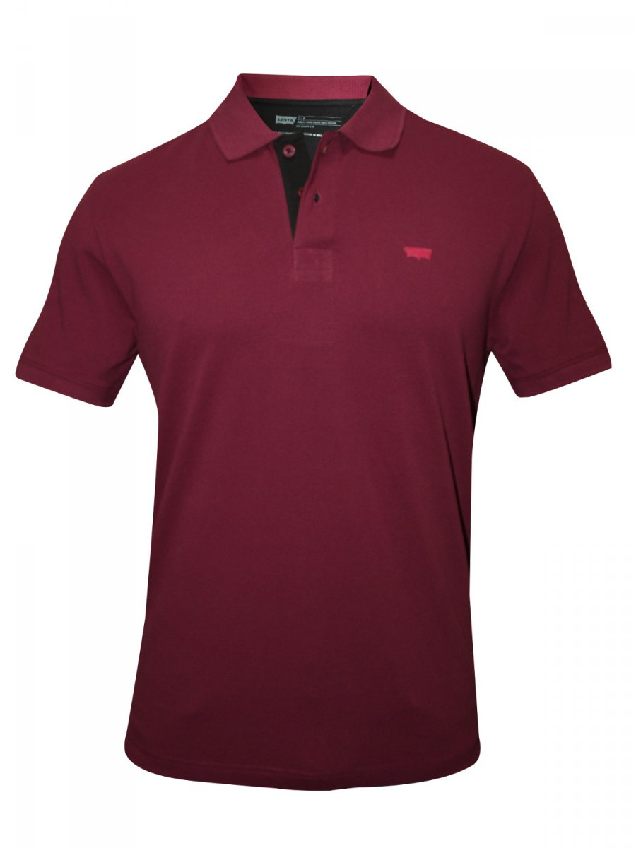 Buy t shirts online levis maroon polo t shirt 17468 for Levis plain t shirts