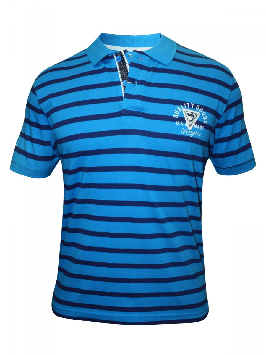 buy t shirts online wrangler blue polo t shirt
