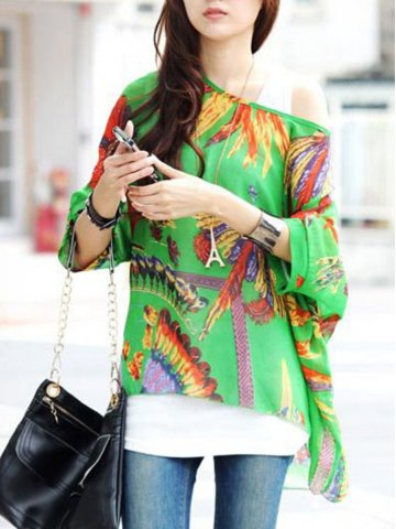 https://static7.cilory.com/125666-thickbox_default/green-tropical-print-batwing-sleeves-chiffon-blouse.jpg