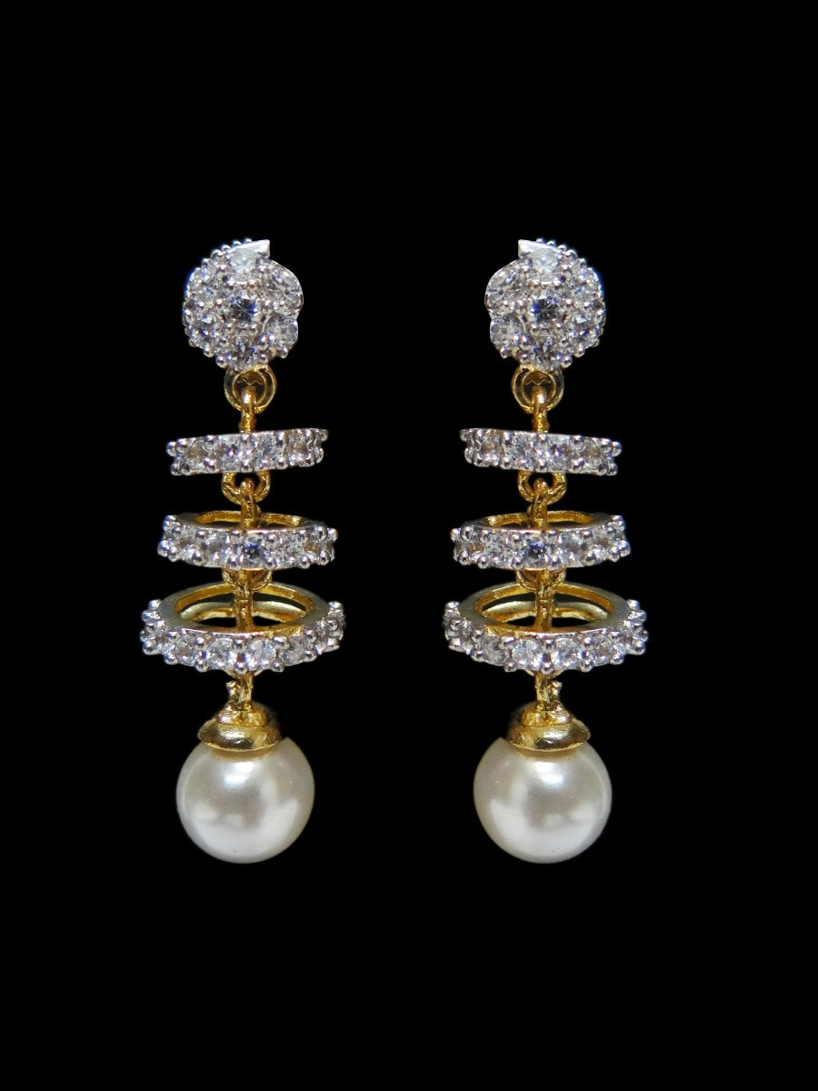 44a014297 American Diamond Earring