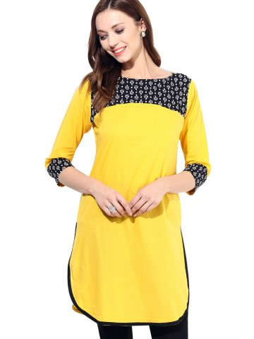 https://static.cilory.com/151569-thickbox_default/jk-pure-cotton-solid-3-4th-sleeves-yellow-kurti.jpg