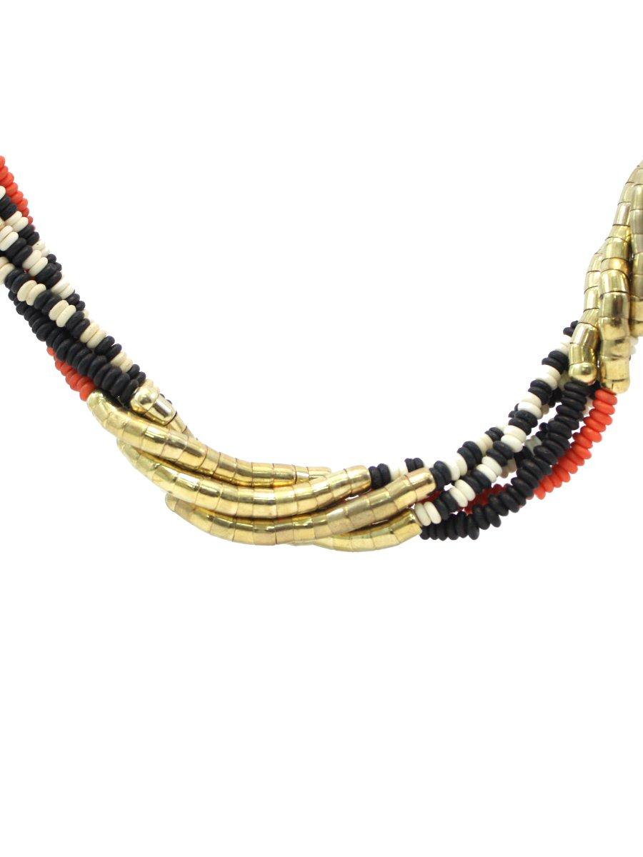 Beautiful Women's Handicraft Neckwear With Earring