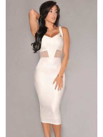 https://static.cilory.com/168281-thickbox_default/white-faux-leather-mesh-accent-midi-dress.jpg