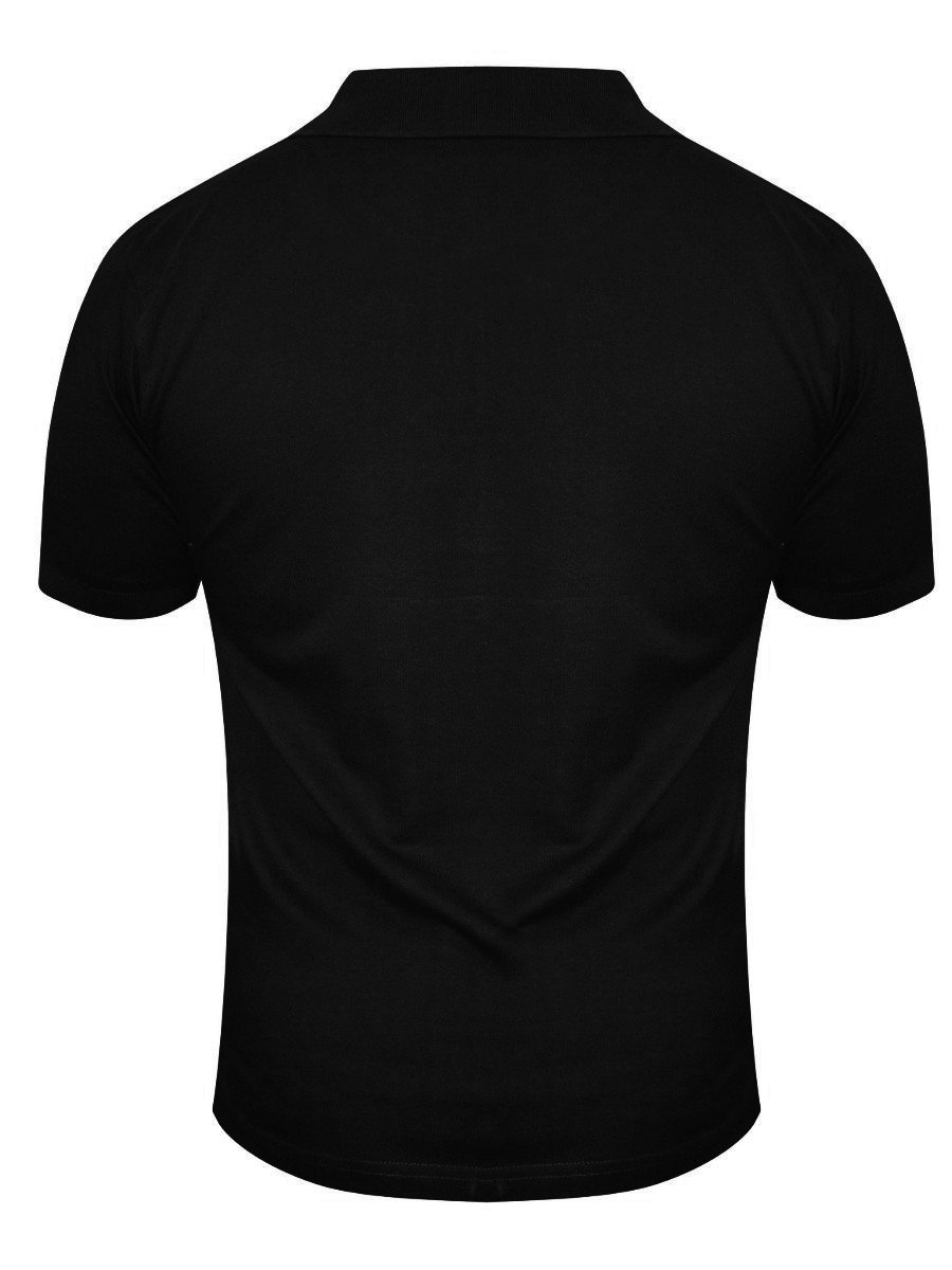 Buy T-shirts Online | Pepe Jeans Black Polo T-shirt | Polo Tee ...