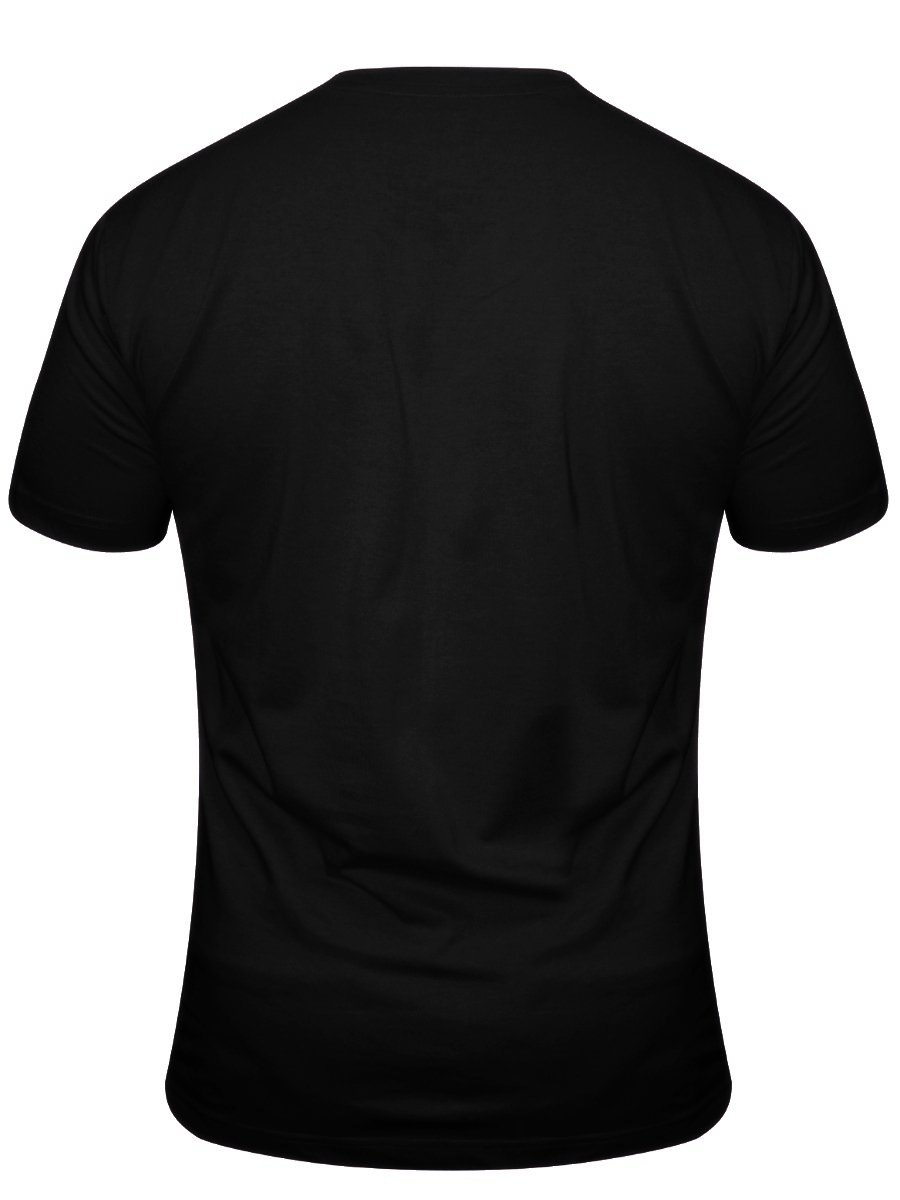 Crocodile black v neck t shirt noon premium vn black for Thick v neck t shirts