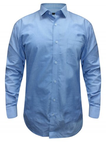 Alpha Male Light Blue formal Shirt at cilory
