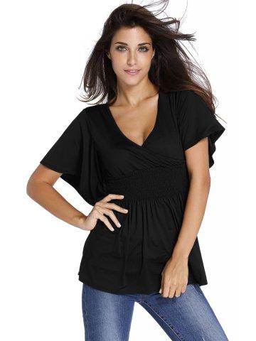 https://static7.cilory.com/205865-thickbox_default/black-v-neck-short-batwing-sleeve-high-elastic-waist-blouse.jpg
