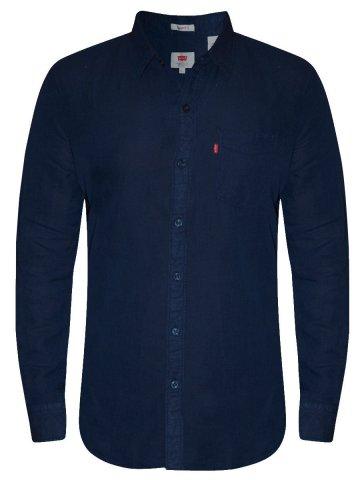https://static1.cilory.com/207783-thickbox_default/levis-navy-casual-linen-shirt.jpg
