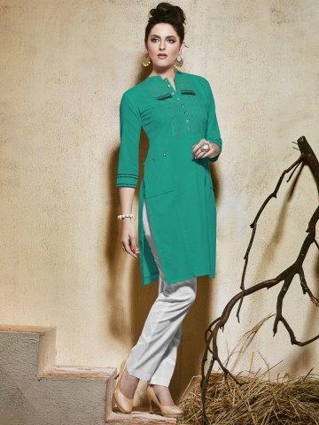 https://static6.cilory.com/213532-thickbox_default/raga-sea-green-cotton-kurti.jpg