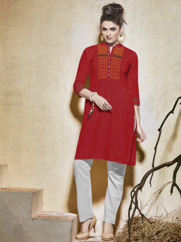 https://static5.cilory.com/213541-thickbox_default/raga-red-cotton-kurti.jpg