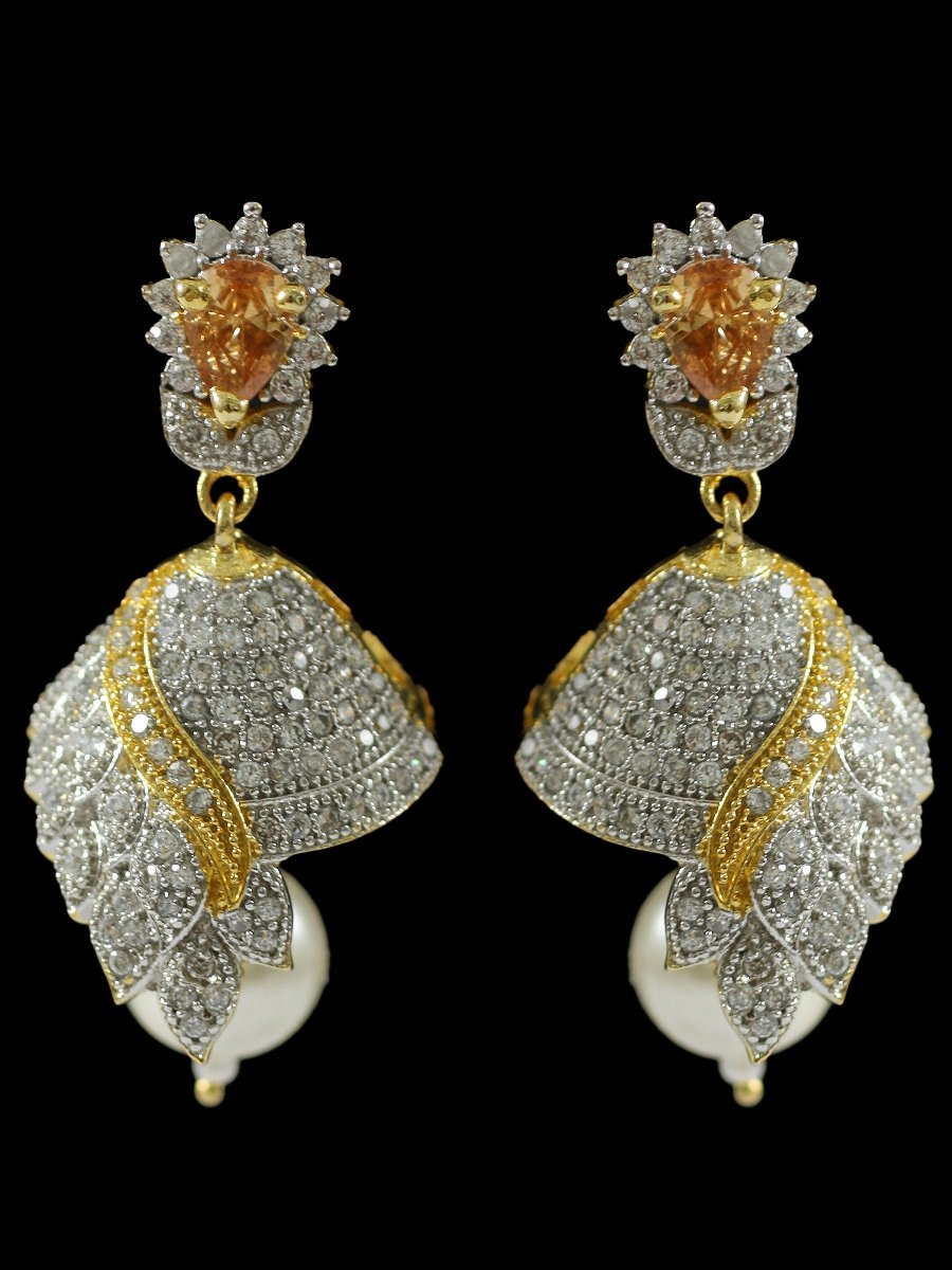jpearlscom earrings pearls jagdamba earings buy pid simple jpearls sri diamond com products jewellery