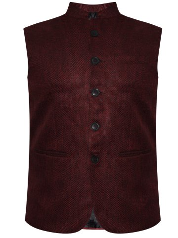 e7f77e479ca1c1 >Red Tape Maroon Waistcoat.  https://static4.cilory.com/228861-thickbox_default/red-