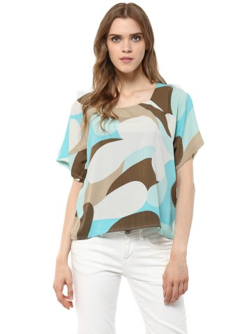 Harpa Multicolor Top at cilory