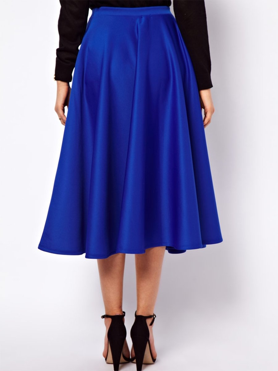 liebemode royal blue skirt 50304 royal blue cilory