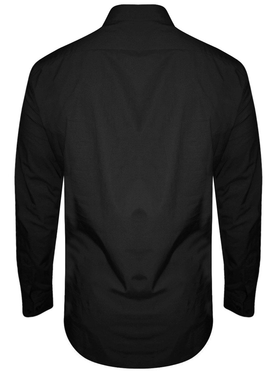 French Connection Black Formal Shirt | 524t2-black | Cilory.com