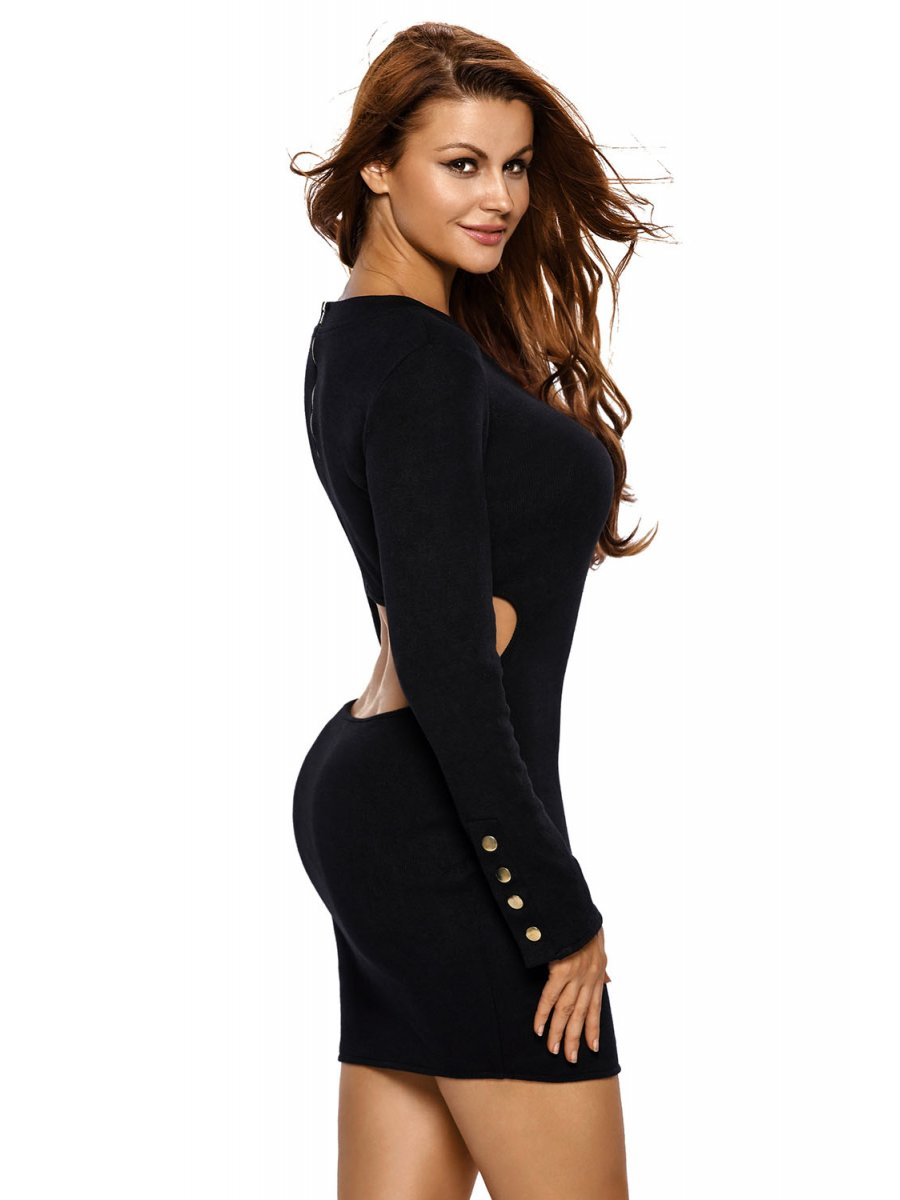 Whether you're looking for a long black dress for a formal event or a cute short black dress for a party or night out, bebe's got you covered. If you're looking for other types of dresses, check out bebe's special occasion dresses, lace dresses, and cocktail dresses to see more sexy looks.