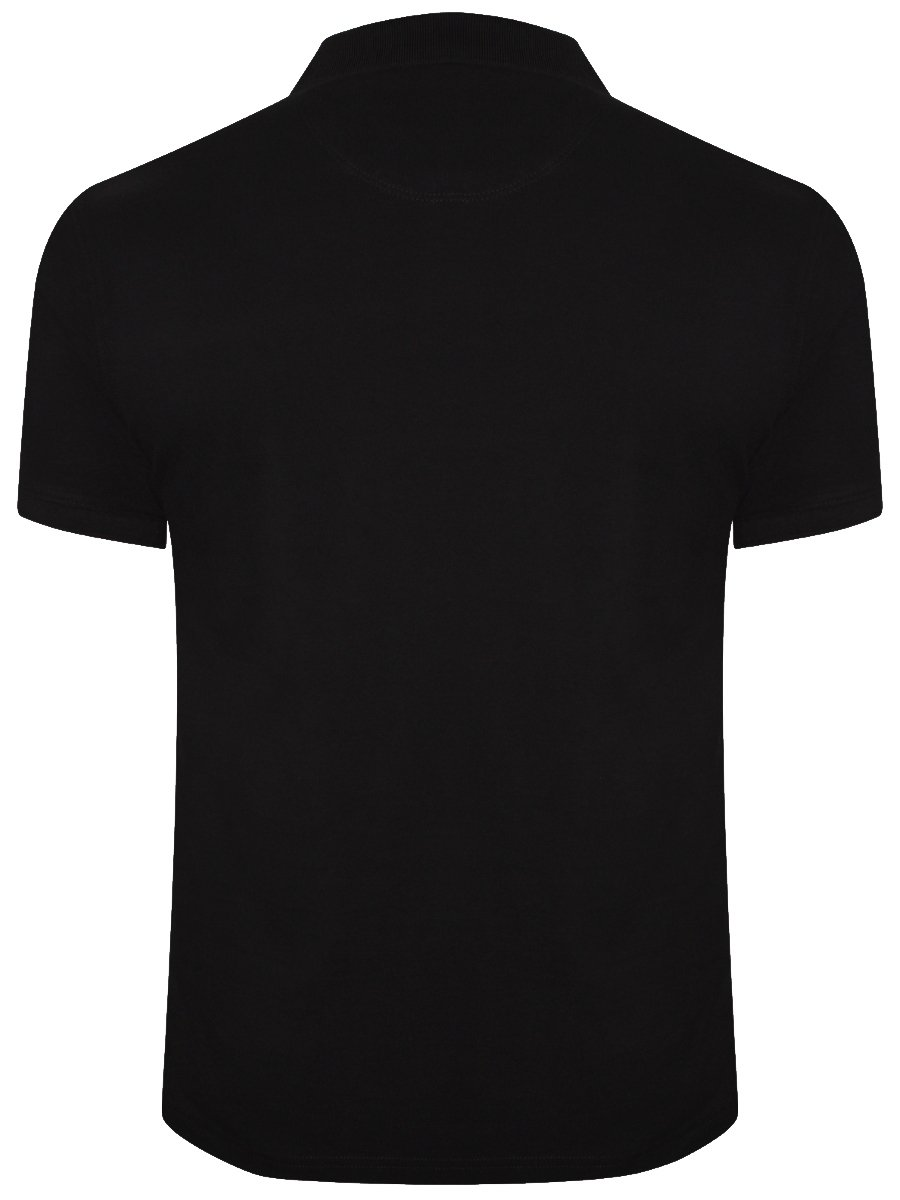 Black t shirt collar - View Full Size