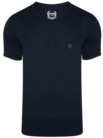 Monte Carlo C&D Navy Round Neck T-Shirt at cilory