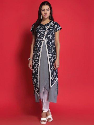 8b4dea15c41 ... Cotton Kurti with Long Jacket.  https   static3.cilory.com 258325-thickbox default nitara-