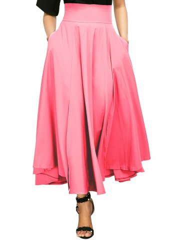 6160463fff ... Belted Maxi Skirt.  https://static9.cilory.com/284493-thickbox_default/pink-