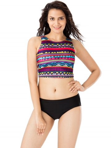 0644f76862 >Pretty Secrets Multicolor & Black Tankini.  https://static8.cilory.com/320247-thickbox_default/pretty-