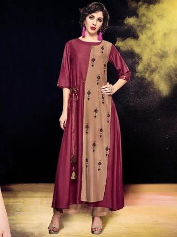 https://static1.cilory.com/320996-thickbox_default/shai-brown-cameo-rose-cotton-modal-embroidered-kurti.jpg