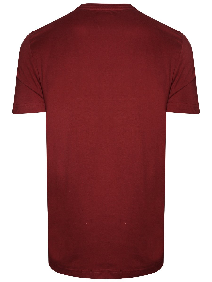 U S Polo Maroon V Neck T Shirt I638 125 Pl
