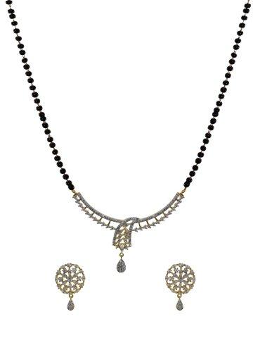 d07227d27 >Maira Series American Diamond Mangalsutra With Earrings.  https://d38jde2cfwaolo.cloudfront.net/351262-thickbox_default/maira-