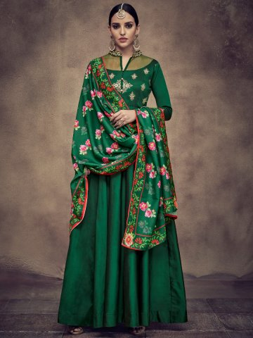 https://d38jde2cfwaolo.cloudfront.net/377367-thickbox_default/bottle-green-stitched-embroidered-gown-with-printed-dupatta.jpg