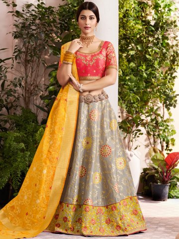 https://d38jde2cfwaolo.cloudfront.net/377859-thickbox_default/grey-yellow-semi-stitched-lehenga-with-un-stitched-top.jpg