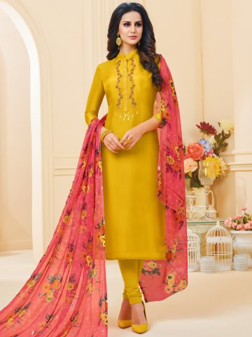 https://static1.cilory.com/383854-thickbox_default/yellow-chanderi-cotton-semi-stitched-suit.jpg
