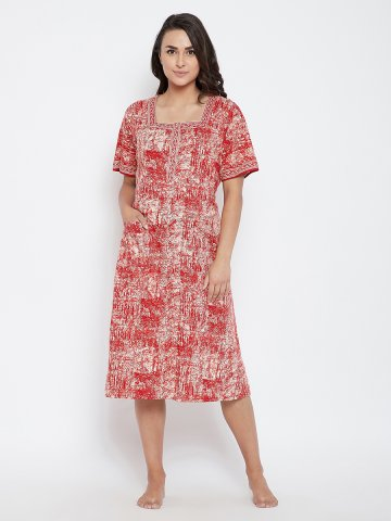 https://d38jde2cfwaolo.cloudfront.net/388148-thickbox_default/red-cotton-printed-jubba-frock.jpg