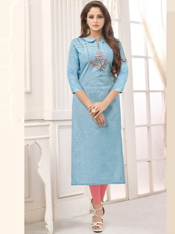 https://static9.cilory.com/399457-thickbox_default/blue-embroidered-cotton-kurti.jpg
