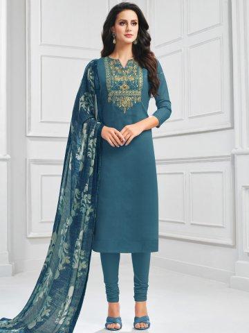 https://static6.cilory.com/407655-thickbox_default/octane-blue-chanderi-cotton-semi-stitched-suit.jpg
