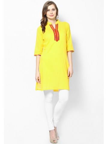 https://d38jde2cfwaolo.cloudfront.net/69090-thickbox_default/jaipur-kurti-s-women-pure-cotton-yellow-kurti.jpg