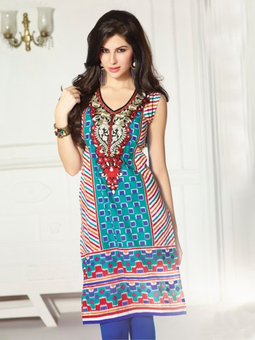 https://static3.cilory.com/74145-thickbox_default/eternal-designer-pure-cambric-cotton-teal-kurti.jpg