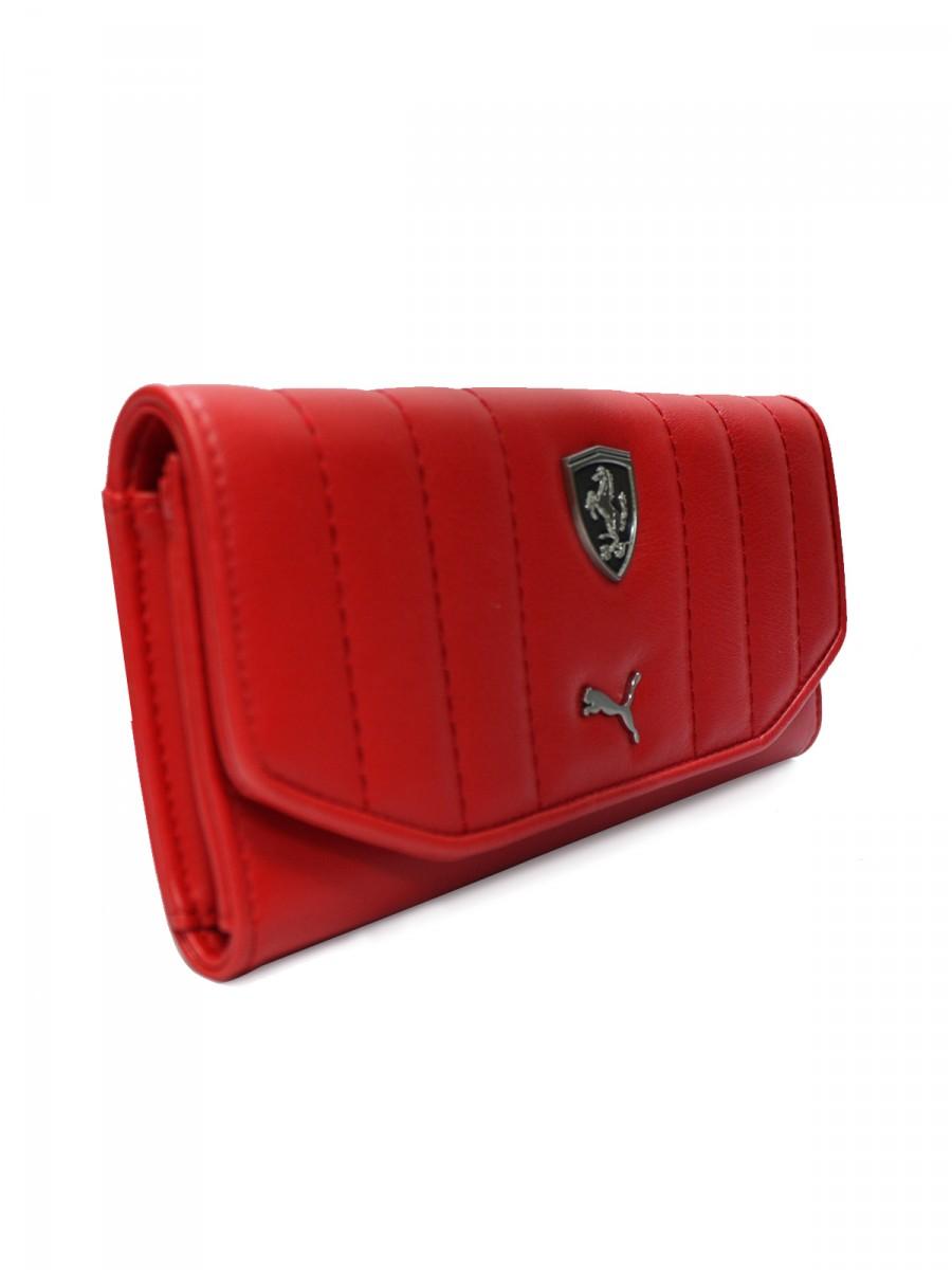puma ferrari wallet pink