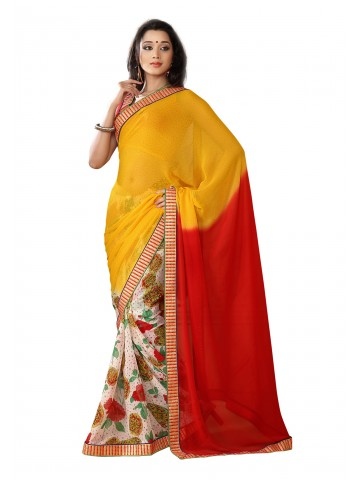 https://static9.cilory.com/87115-thickbox_default/fabdeal-georgette-printed-yellow-red-saree.jpg