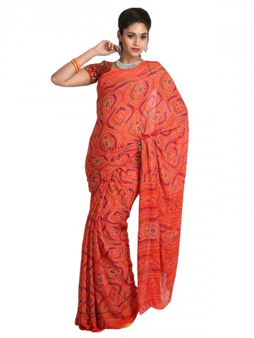 https://static8.cilory.com/89727-thickbox_default/jaipur-kurti-s-ethnic-peach-faux-georgette-saree-paired-with-blouse.jpg