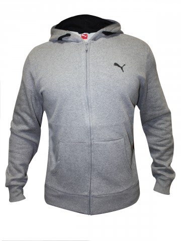 Puma Men's Ess Hooded Fleece Jacket at cilory