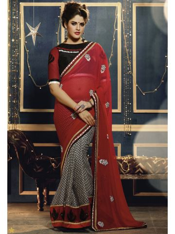 https://d38jde2cfwaolo.cloudfront.net/97908-thickbox_default/designer-embroidered-red-and-black-saree.jpg